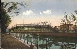 71319314 Charleroi Hainaut Wallonie Passerelle Feldpost - Belgio