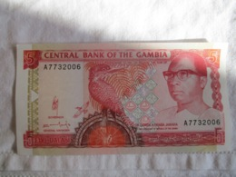 Gambia: 5 Dalasi 1972 - 86 - Gambia