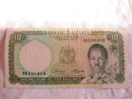Tanzania:10 Shilling 1966 - Tanzanie