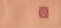 ENTIER 108 BJ6  NEUVE - 1900-29 Blanc