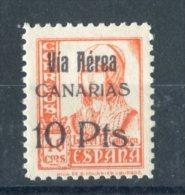 1938. Canarias. Edifil 49 ** MNH - 1931-Hoy: 2ª República - ... Juan Carlos I