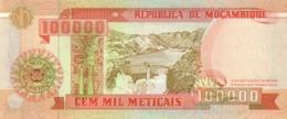 Mozambique  P.139 100000 Meticais  1993  Unc - Mozambique