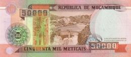Mozambique  P.138  50000 Meticais  1993  Unc - Mozambique
