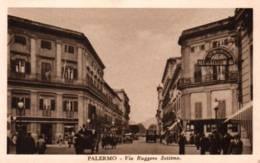 CPA - PALERMO - VIA RUGGERO SETTIMO ... - Palermo