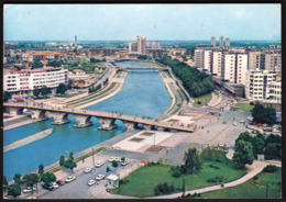 Macedonia Skopje 1979 / Panorama, Bridge, River - Macedonië