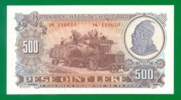 Albania 500 Leke 1957 P31 UNC - Albania
