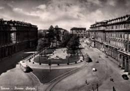 CPSM - TORINO - PIAZZA STATUTO ... (tramway) - Piazze