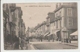 FRANCE / CPA / ALTBERVILLE / RUE DE LA REPUBLIQUE / 1905 - Albertville