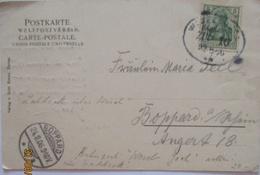 Bahnpost Wesel Goch, Gruss V.Hotel Reichswald 1906, Verlag Krams Xanten (16062) - Stamps