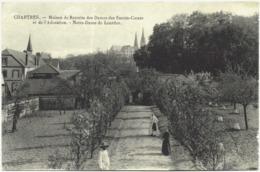CPA DE CHARTRES  (EURE ET LOIR) MAISON DE RETRAITE DES DAMES DES SACRES-COEURS ET DE L'ADORATION - Chartres