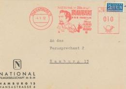 Hamburg National-Film Blaubart Hans Albers Cecile Aubry 1952 Peitsche - Briefstück - [7] Federal Republic