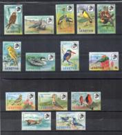 Leshoto - 1982 - Uccelli - 14 Valori - Nuovi - Linguellati - (FDC16846) - Lesotho (1966-...)
