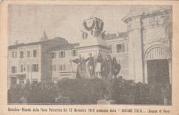 FANO _ RICORDO DELLA FESTA PATRIOTTICA DEL 25 NOVEMBRE 1918 - Fano