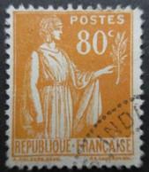 FRANCE Type Paix N°366 Oblitéré - 1932-39 Peace