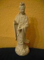 Blanc De Chine - Stehende Guanyin (802) - Céramiques