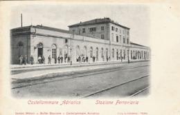 CASTELLAMMARE ADRIATICO - STAZIONE FERROVIARIA - Teramo