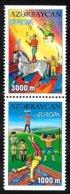 Azerbaïdjan - Europa CEPT 2002 - Yvert Nr. 431/432 B - Michel Nr. 513/514 D  ** - Europa-CEPT