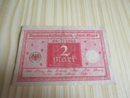 Allemagne.Billet 2 Mark 01/03/1920. - [ 3] 1918-1933 : República De Weimar