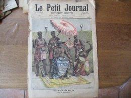 """LE PETIT JOURNAL DU 23 AVRIL 1892 BEHANZIN ROI DE DAHOMEY,LE CENTENAIRE DE LA """"MARSEILLAISE"""" ROUGET DE LISLE A STASBOURG - Zeitungen"""