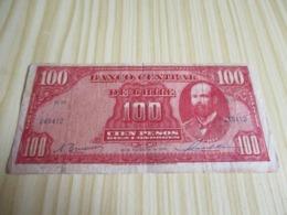 Chili.Billet 100 Pesos 24/11/1948. - Chile