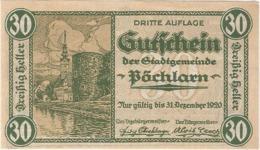 Austria (NOTGELD) 30 Heller Pöchlarn  Kon-fs 755 III.4  UNC Ref 3621-1 - Austria