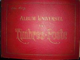 Gros Album Maury Du Monde 688 Pages Etat Standard - Briefmarken