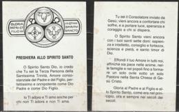 Santino - Preghiera Dello Spirito Santo - Santini