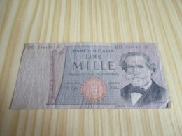 Italie.Billet 1000 Lires. - [ 2] 1946-… : República