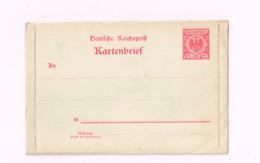 Kartenbrief à 10 Pfennig. - Entiers Postaux