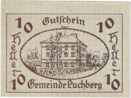 Austria (NOTGELD) 10 Heller Puchberg  Kon-fs 785 A.1  UNC Ref 3630-1 - Austria