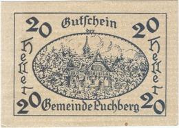 Austria (NOTGELD) 20 Heller Puchberg  Kon-fs 785 A.2  UNC Ref 3631-1 - Austria
