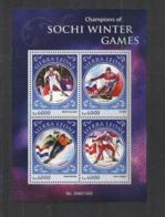 Olympische Spelen  2014 , Sierra Leone  - Blok Postfris - Winter 2014: Sochi