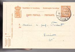 1919 LUXEMBOURG-VILLE-b National Olympic Committee 'café De La Paix' > Prof. Tockert (641) - Enteros Postales