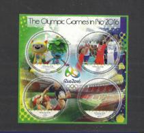 Olympische Spelen  2016 , Kongo  - Blok Postfris - Summer 2016: Rio De Janeiro