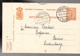 1919 LUXEMBOURG-VILLE-b National Olympic Committee 'café HUWELS' > Prof. Tockert (642) - Enteros Postales