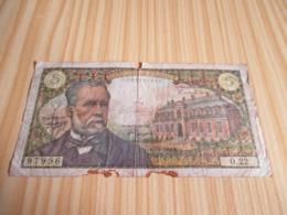France.Billet 5 Francs Pasteur 07/07/1966. - 1962-1997 ''Francs''