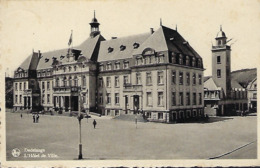 DUDELANGE - L'Hôtel De Ville  -  E.A.Schaack,Luxembourg,   2 Scans - Postkaarten