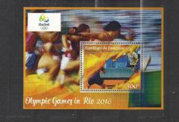Olympische Spelen  2016 , Kamerun - Blok Postfris - Summer 2016: Rio De Janeiro