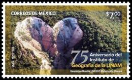 2018 MÉXICO Instituto De Geografía De La UNAM, MNH Institute Of Geography, UNESCO Mixteca Alta World Geopark Of Oaxaca - Mexico