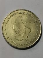 Luxembourg Jeton, Luxembourg Héritage 2010 Schengen - Tokens & Medals