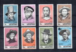 Leshoto - 1975 - Leader Del Leshoto - 8 Valori - Nuovi - Linguellati - (FDC16848) - Lesotho (1966-...)