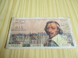France.Billet 10 Nouveaux Francs Richelieu 06/04/1961. - 1959-1966 ''Nouveaux Francs''