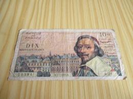 France.Billet 10 Nouveaux Francs Richelieu 02/07/1959. - 1959-1966 ''Nouveaux Francs''