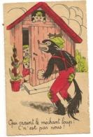 10 - Qui Craint Le Méchant Loup ! C'est Pas Nous ! - 3 Petits Cochons - Contes, Fables & Légendes