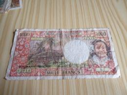 Papeete.Billet 1000 Francs. - France