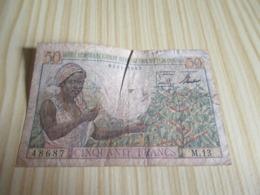 Cameroun.Billet 50 Francs. - Cameroon