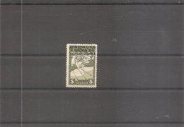 Yougoslavie ( Journaux 4 X -MH- Avec Surcharge A ) - Zeitungsmarken