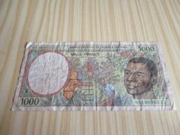 Cameroun.Billet 1000 Francs 1994. - Cameroun