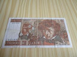 France.Billet 10 Francs Berlioz 05/08/1976. - 1962-1997 ''Francs''