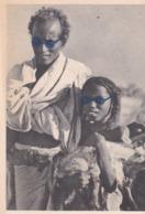 PS / Pub Labo LA BIOMARINE Cpsm 10x15 .COTE DES SOMALIS . Danakil Et Fillette Portant Un Agneau    +3 Timbres - Sonstige